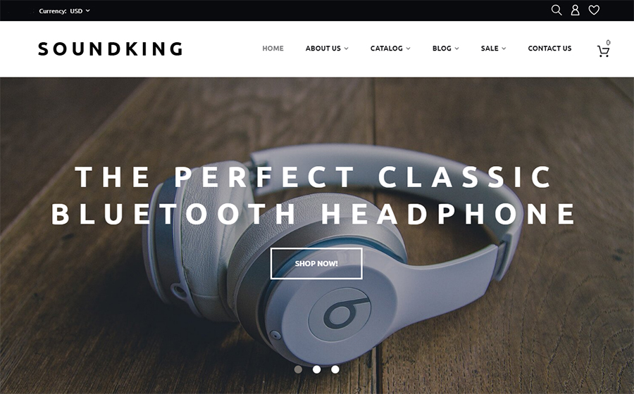 Soundking Theme | MageWorx Shopify Blog