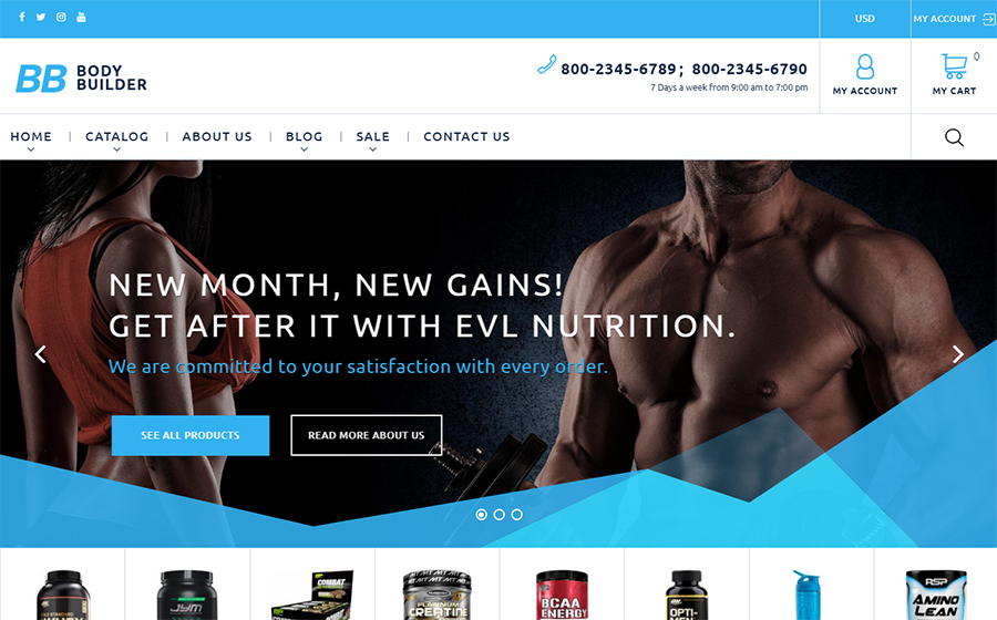 Body Builder Theme | MageWorx Shopify Blog