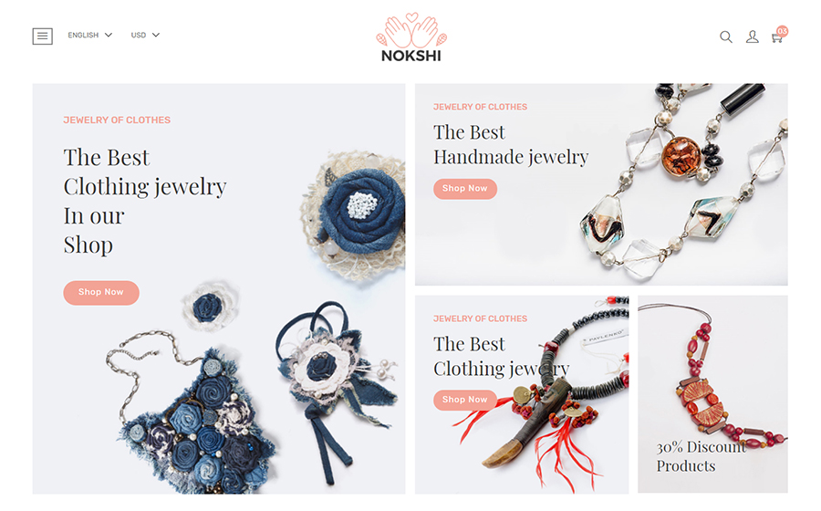 Nokshi Theme | MageWorx Shopify Blog