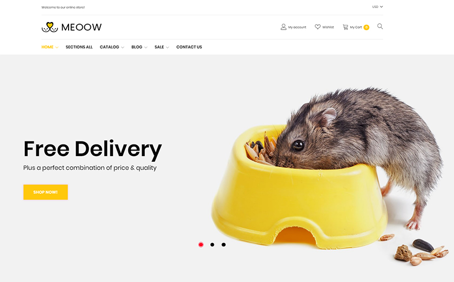 Meeow Theme | MageWorx Shopify Blog