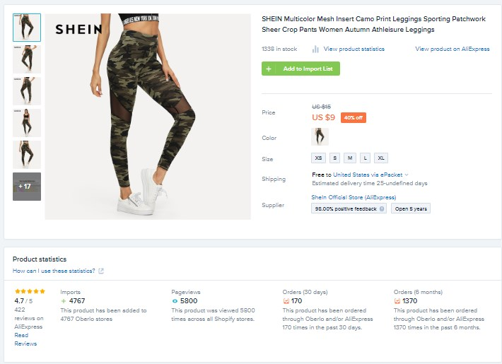 Best Shopify Product - Athleisure