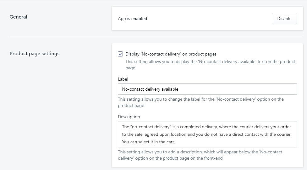 New Free App for Shopify―No-Contact Delivery | MageWorx Shopify Blog